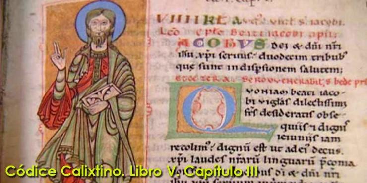 Códice Calixtino (Codex Calixtinus) Libro V. Capítulo III