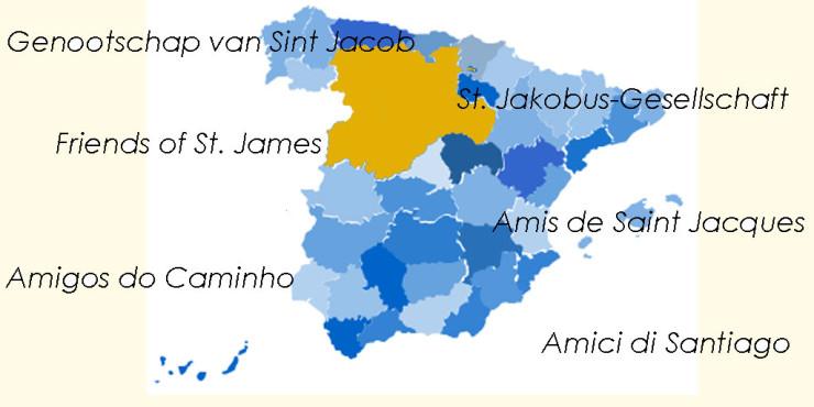 Asociaciones de Amigos del Camino de Santiago en Castilla y León