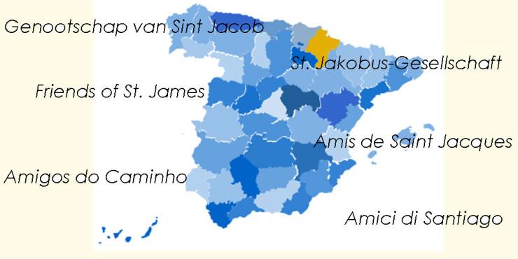Asociaciones de Amigos del Camino de Santiago en Navarra
