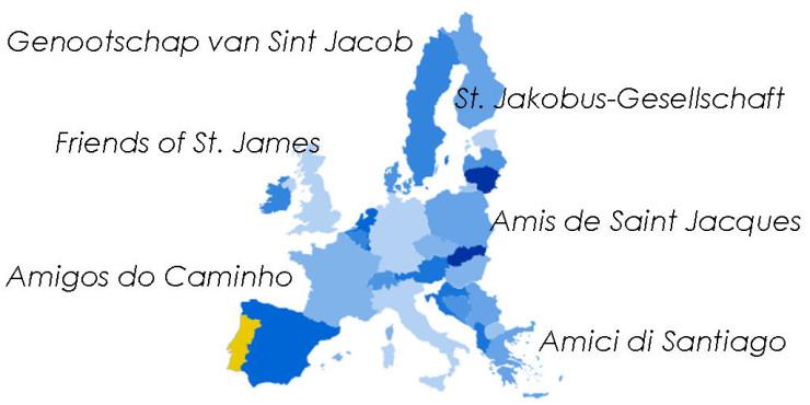 Asociaciones de Amigos del Camino de Santiago en Portugal