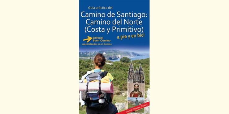 Portada de la guía del Camino del Norte (Costa y Primitivo)