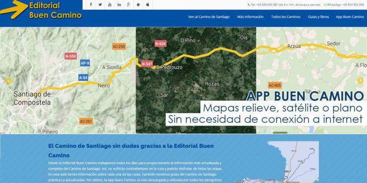 Nueva web de la Editorial Buen Camino
