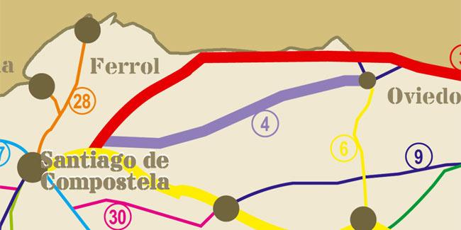 Etapas del Camino Primitivo