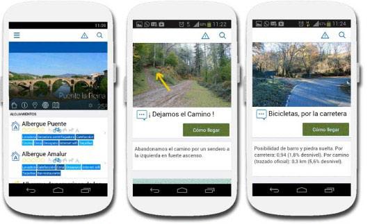 Versión 54 de la App Buen Camino de Santiago Pro