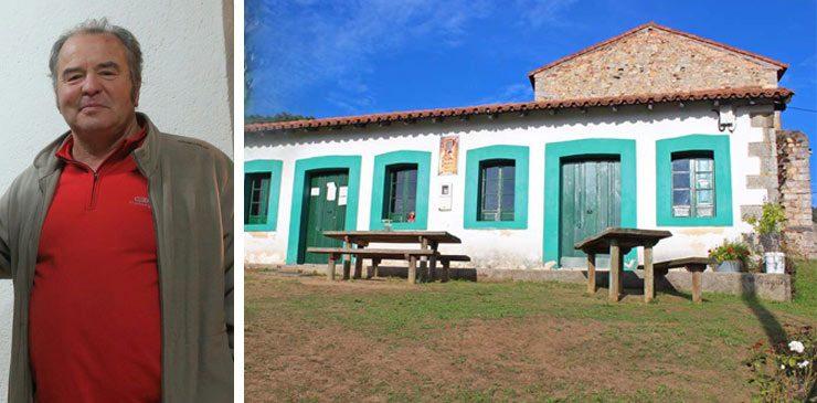 Domingo Ugarte. Camino de Santiago en Villapañada