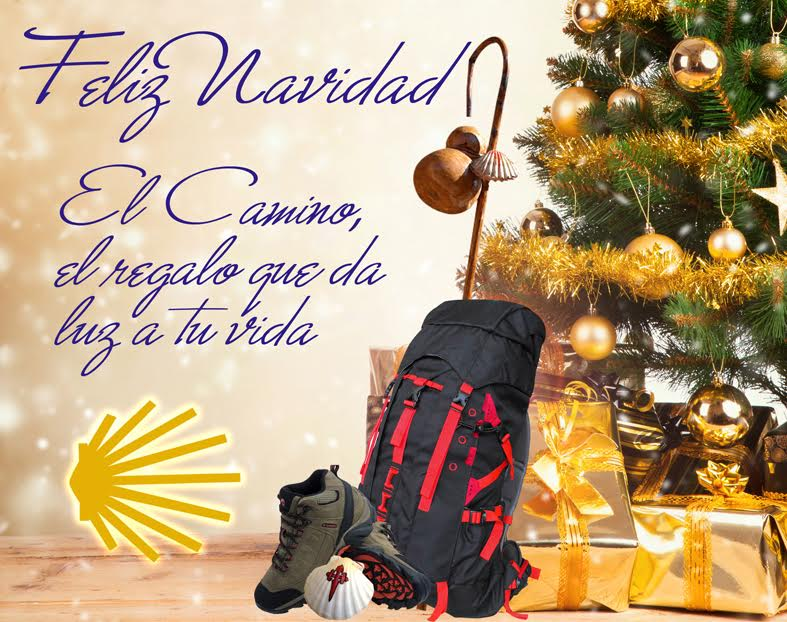 feliz navidad Camino de Santiago