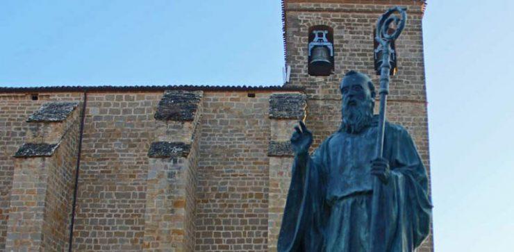 San Veremundo de Villatuerta patrón del Camino de Santiago en Navarra