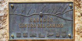 """Sahagún, """"centro del Camino"""""""