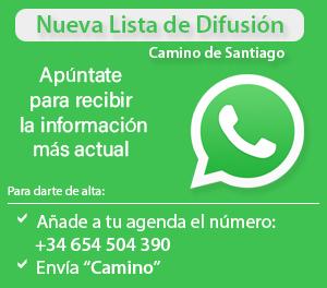 whatsapp Camino de Santiago