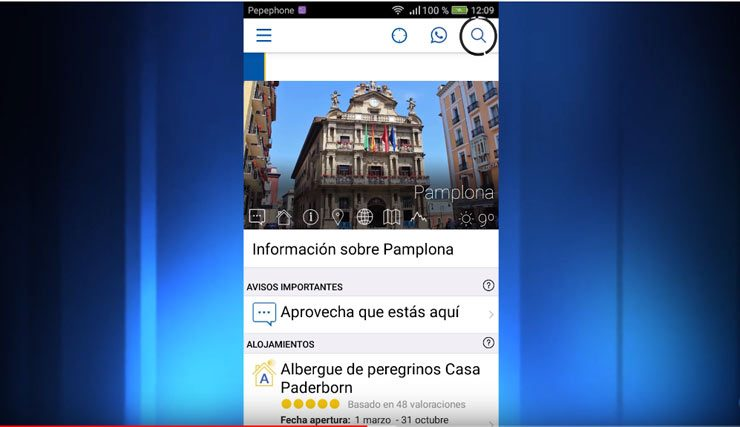 App Buen Camino de Santiago