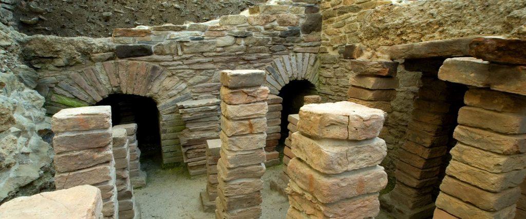 Hipocausto Termas Romanas 1024x428 Camino de Santiago